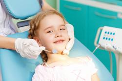 Герметизация молочных зубов
