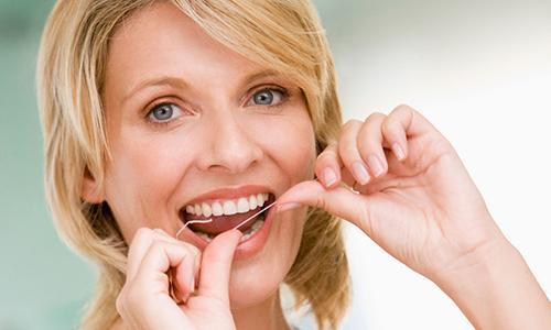 Тщательный уход за зубами