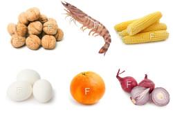 Продукты питания богатые фтором