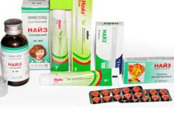 Препарат Найз для лечения зубной боли у взрослых и детей