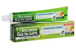 Зубная паста лесной бальзам от кровоточивости десен