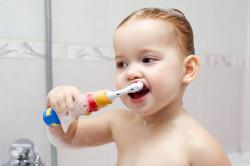 Гигиена ротовой полости для профилактики бутылочного кариеса
