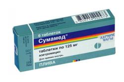 Сумамед для лечения стоматита