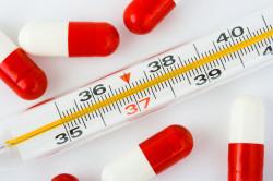 Повышенная температура - симптом стоматита