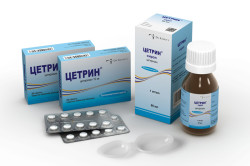 Цетрин для лечения аллергического стоматита