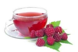Чай с малиной при повышении температуры