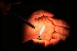 Курение - причина развития кариеса